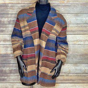 Tracy Evans Oversized Vintage Wool Blazer